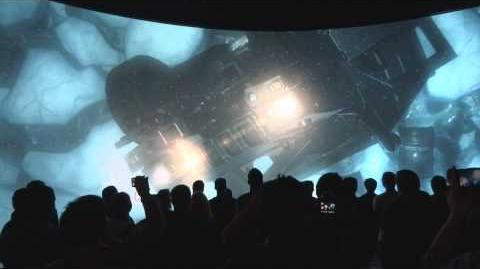 E3 2013 Call of Duty Ghosts 'MASS EVENT' Activision 180 Degree Screen Gameplay