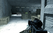 Weapon tables in hideout Charlie Don't Surf CoD4