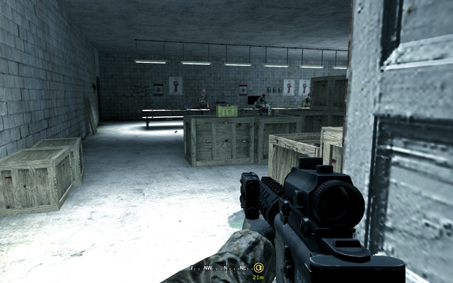 File:Weapon tables in hideout Charlie Don't Surf CoD4.png