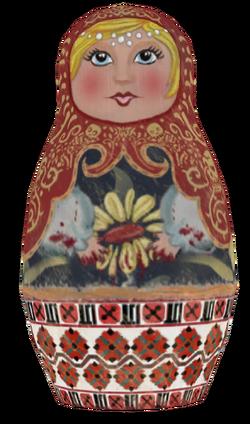 Matryoshka Doll model BO