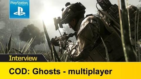 Call Of Duty Ghosts multiplayer video interview - new online details & info