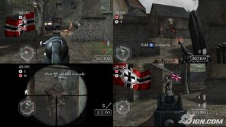 COD2 Split-Screen