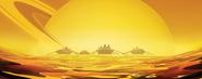 Rowing on Titan Calling Card IW
