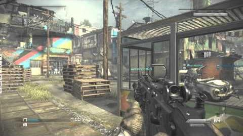 Favela Gameplay!!! Cod Ghosts Invasion DLC!!