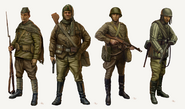 TAS Concept Art Red Army WaW
