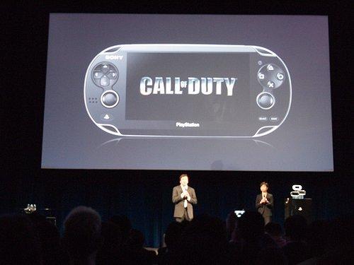 Call of Duty PSVita announcement