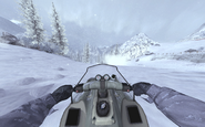 Driving a snowmobile MW2