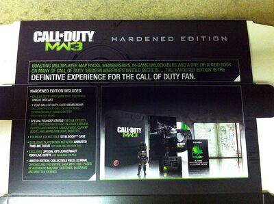 MW3 Hardened Edition Details