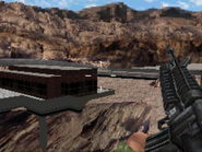 Upper level of the dam MW3DS