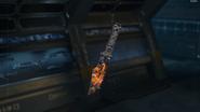 Combat Knife Gunsmith Model Underworld Camouflage BO3