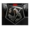 5 Streak Medal BOII