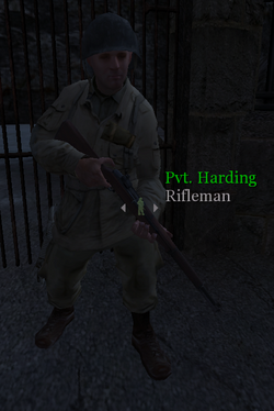 Pvt Harding