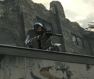 Soldier using USR CODG