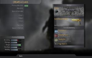 Create-a-Class CoD4