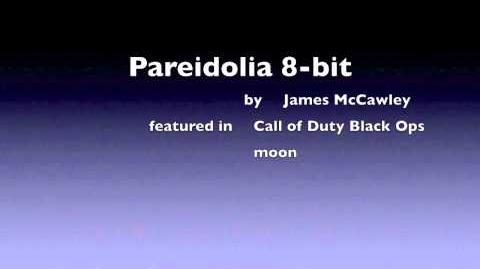 Pareidolia 8-bit Call of Duty Black Ops - Moon nazi zombies James McCawley