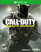 Infinite Warfare Xbox One Box Art