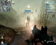 Cyborg Evacuation gameplay CoDO