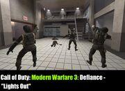 Personal Geekius Maximus Modern Warfare 3 Defiance Lights Out