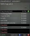 Survival Mode Screenshot Equipment Armory Frag Refill.png