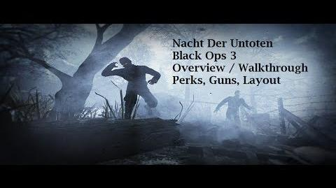 Call of Duty Black Ops 3 Nacht Der Untoten Basic Overview