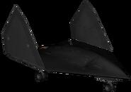 X-47 Pegasus Folded model BOII