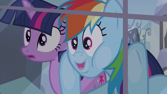 File:Rainbow Dash looking through window S3E12.png
