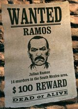 Wanted Dead or Alive Julian Ramos