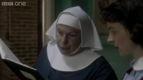 Sister Evangelina takes Jenny Lee to task - Call the Midwife - BBC One Christmas 2012