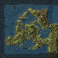 Lyonesse map