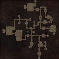 Spraggon Den map