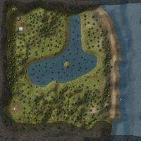 Inishail Island map