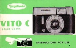 Voigtlander-Vito-C-Instruction-Manual