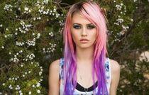 Red Purple Hair Dye 23