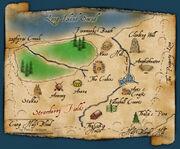 Camp Half-Blood map
