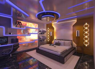 Amatae's bedroom