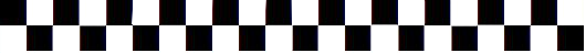 Checkered pattern divider