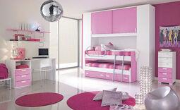 Pink-girls-room-design