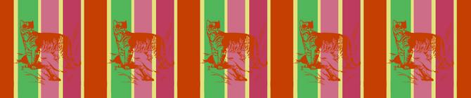 Tiger theme for bird