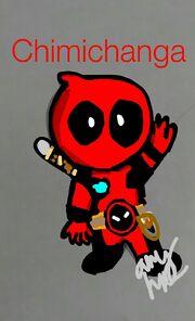 Deadpool by Hunter