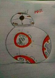 BB-8 BY MAZZE