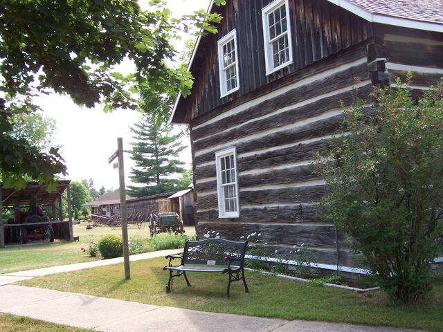 File:Champlain Trail Pioneer Village.jpg