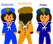 Sackville, Oromocto & Aulac sketch