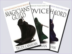 UK black magician trilogy