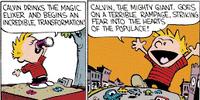 Calvin the Giant