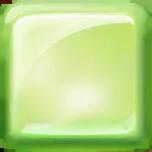 Jelly cube 2 green