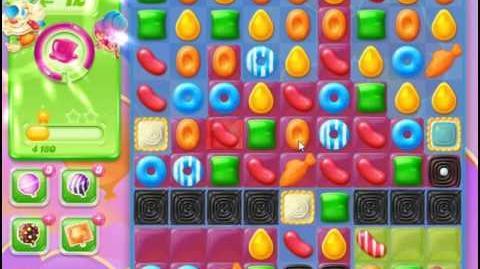 Candy Crush Jelly Saga Level 52 Hard Level NO BOOSTER