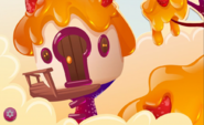 Caramel Canopy horizontal background