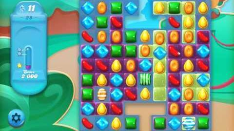 Candy Crush Jelly Saga Level 28