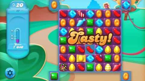 Candy Crush Jelly Saga Level 17