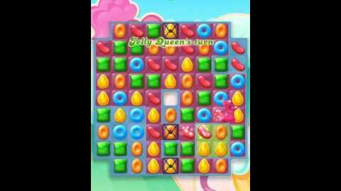 Candy Crush Jelly Level 17-New board layout